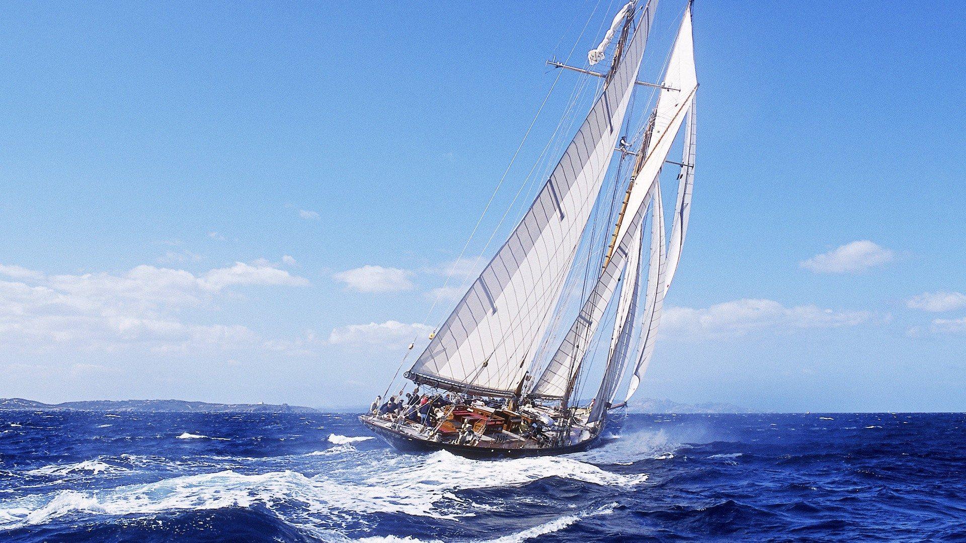 Trans Atlantic Sailboat Race 1920x1080 Full HD    Free HD Wallpaper