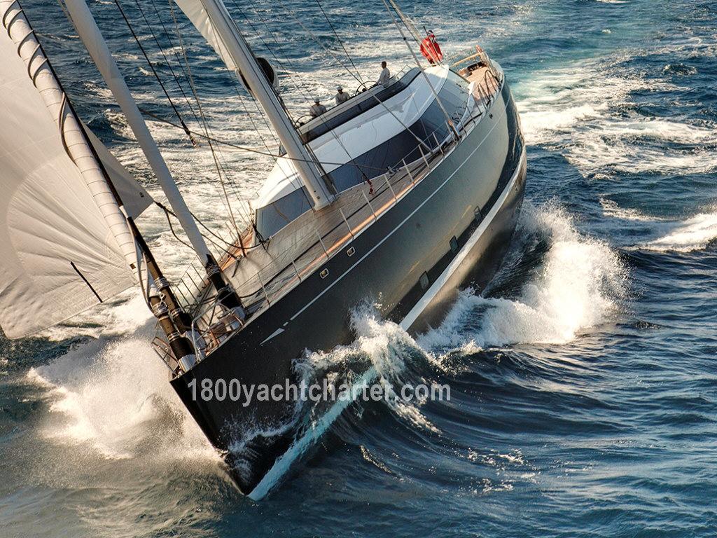 Megayacht KOKOMO wins Award for Best Sail Yacht Over 40 meters HD Wallpaper