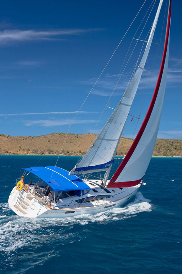 Sunsail 53   5 Cabin Monohull Yacht   Sunsail HD Wallpaper