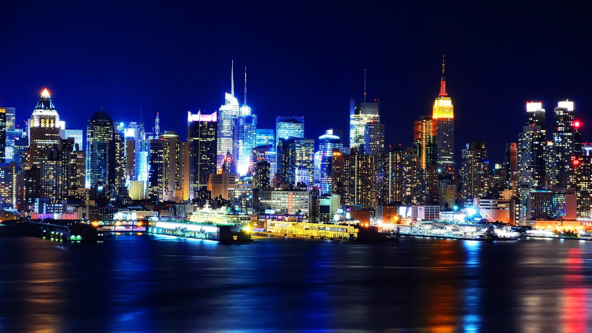 Manhattan  New York   Free HD  HD Wallpaper