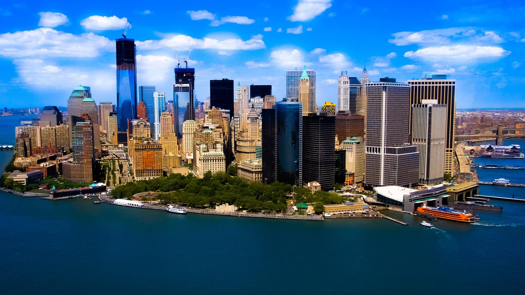 Manhattan NYC   Computer  HD HD Wallpaper