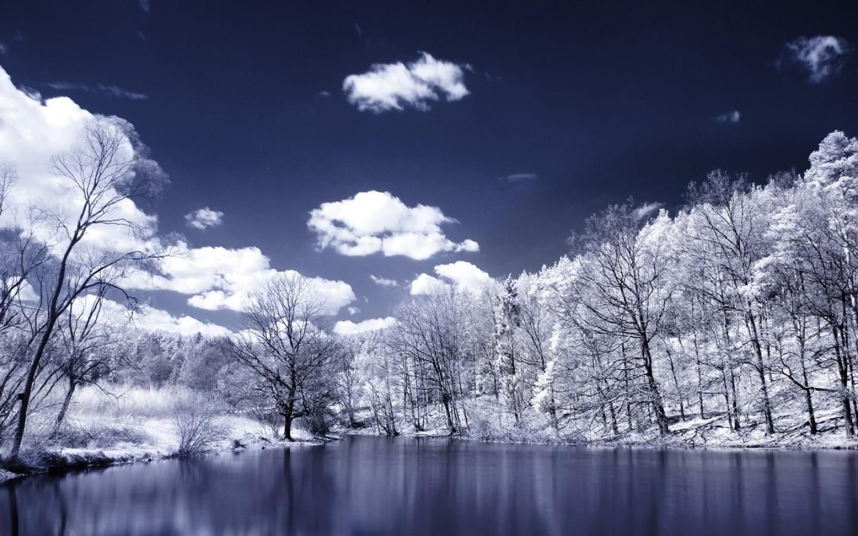 Snow winter scene  1280x1024    29587    High Quality HD Wallpaper