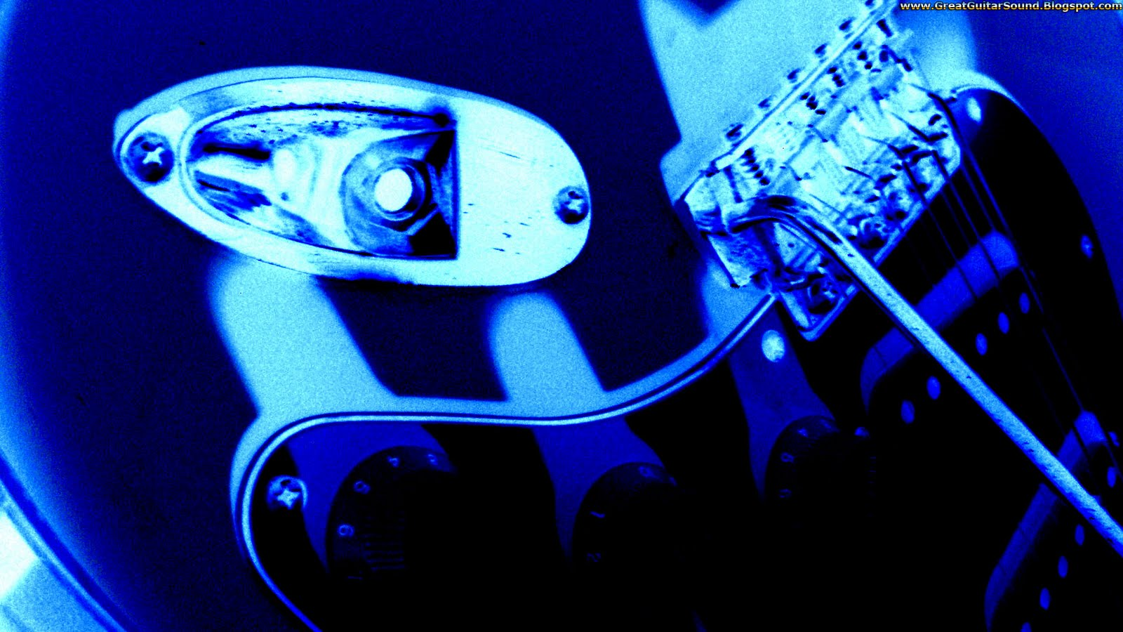 Guitar    Blue Effect Fender Stratocaster Electric Guitar HD Wallpaper