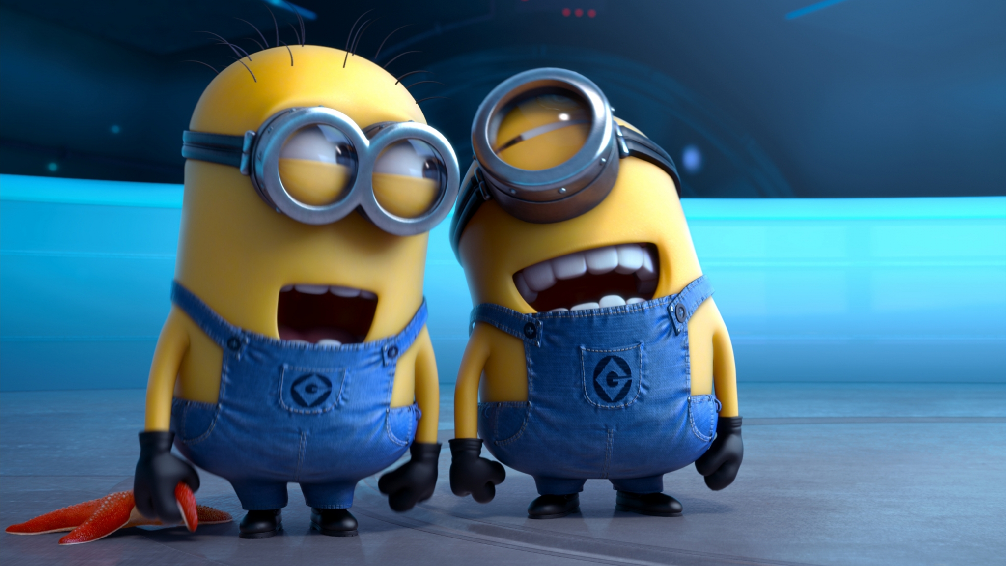 Free Download 2048x1152 Resolution of high quality despicable me HD Wallpaper