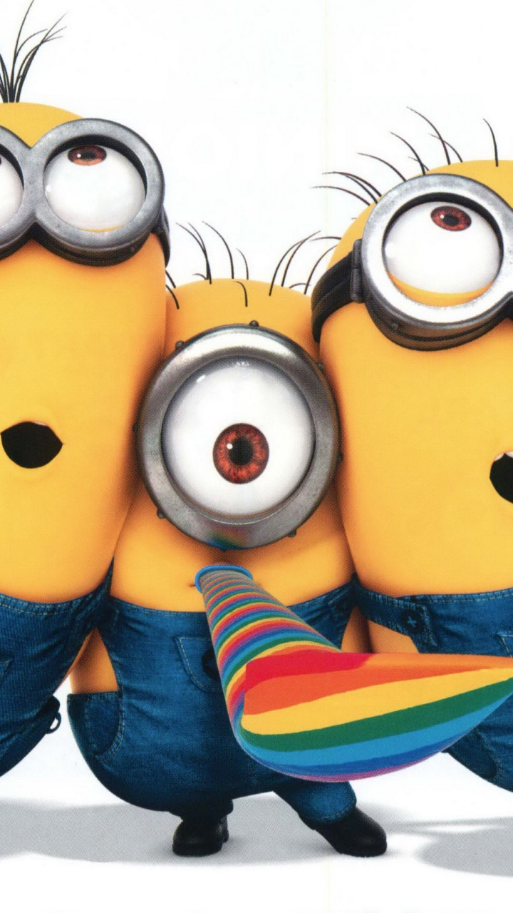 Minions Group in Despicable Me 2   720x1280   258563 HD Wallpaper