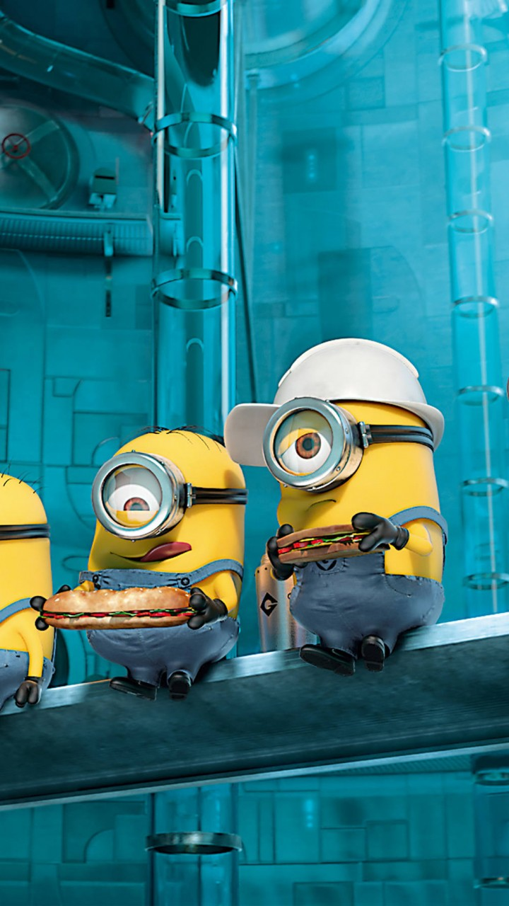 Paradise Minions Despicable Me 2   720x1280 HD Wallpaper
