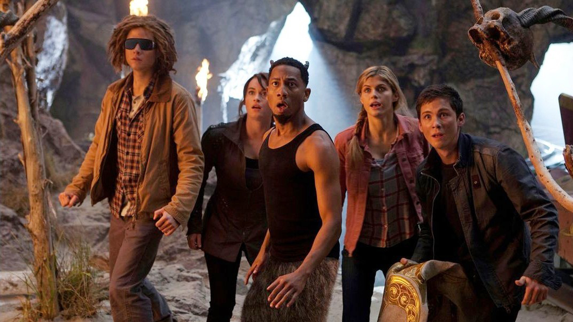 PERCY JACKSON  SEA OF MONSTERS 2D   Austin   Alamo Drafthouse Cinema HD Wallpaper