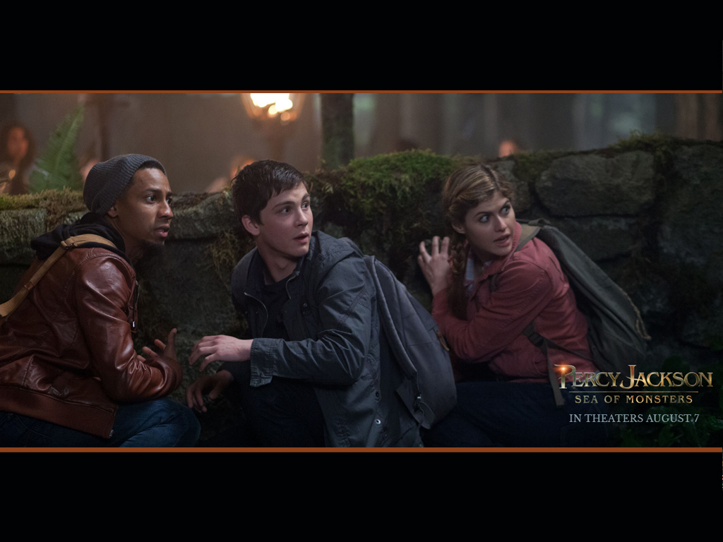 Percy Jackson Sea of Monsters HQ Movie    Percy Jackson HD Wallpaper