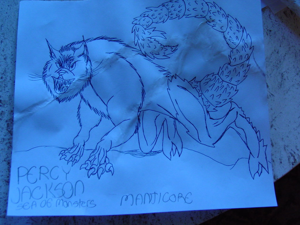 Percy Jackson Sea of Monsters Manticore by wolvesofpride on deviantART HD Wallpaper