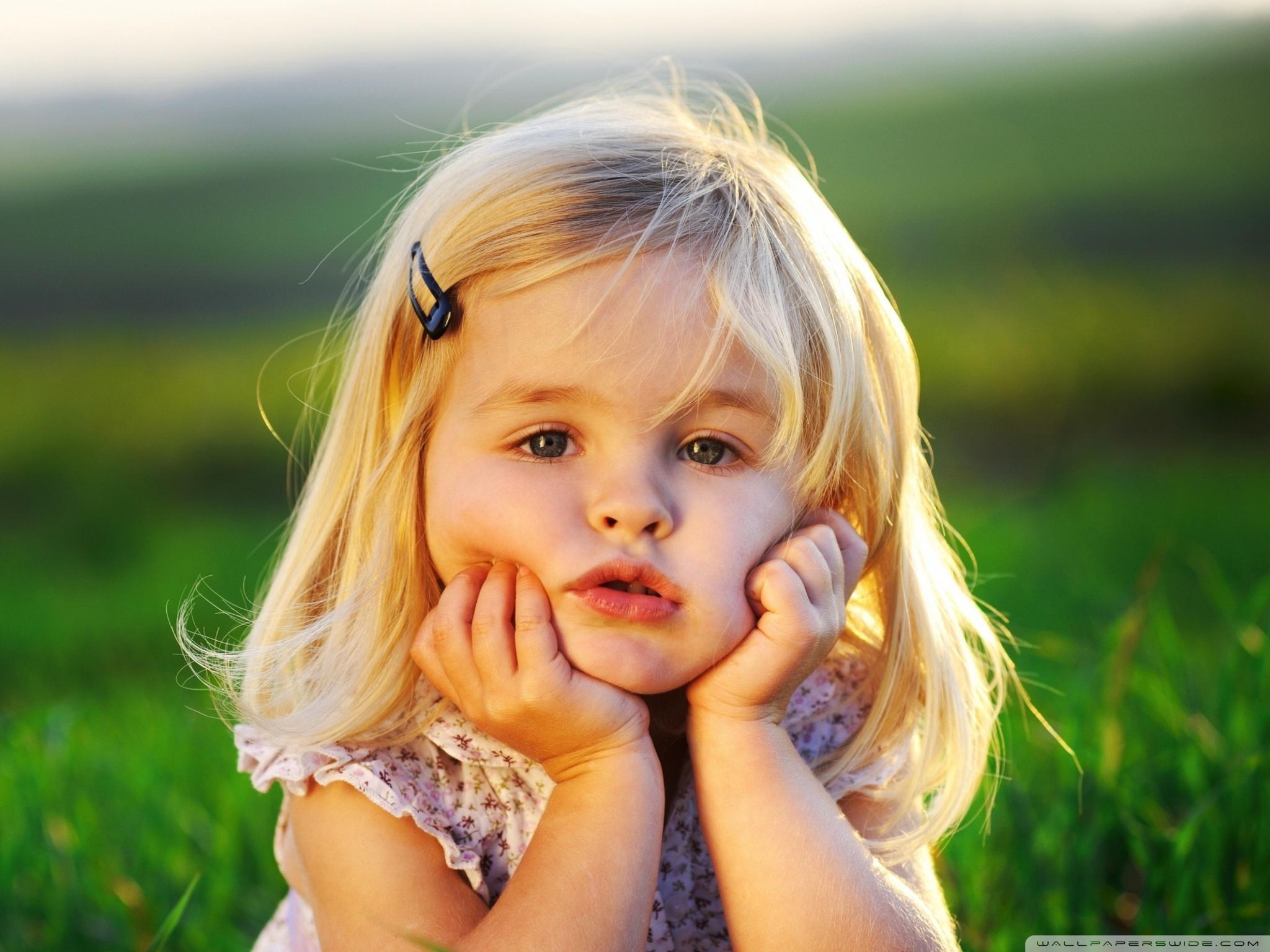 Cute Baby Girl HD desktop    High Definition   Fullscreen HD Wallpaper