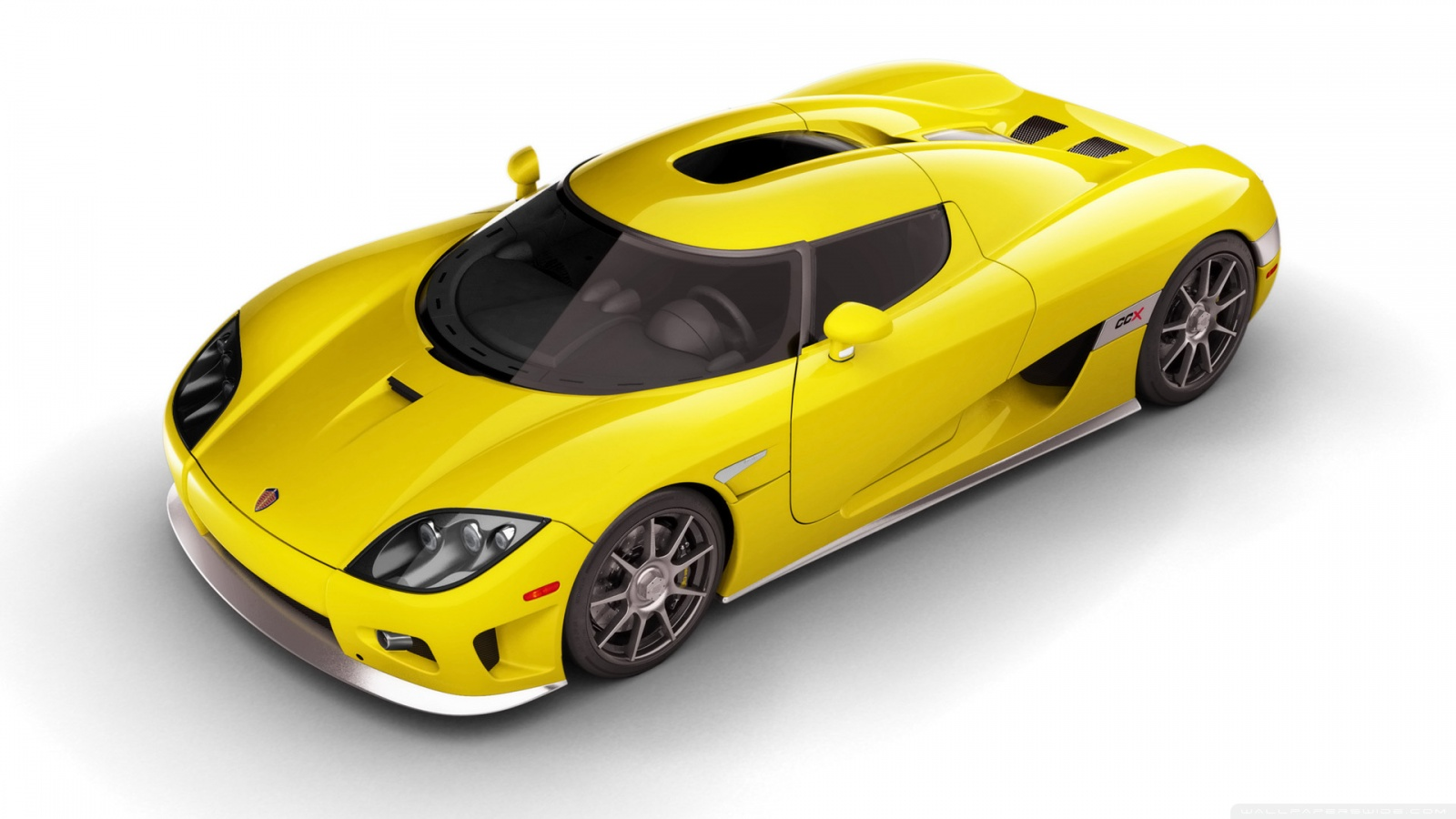 2006 Koenigsegg CCX Yellow Top HD desktop    Widescreen HD Wallpaper