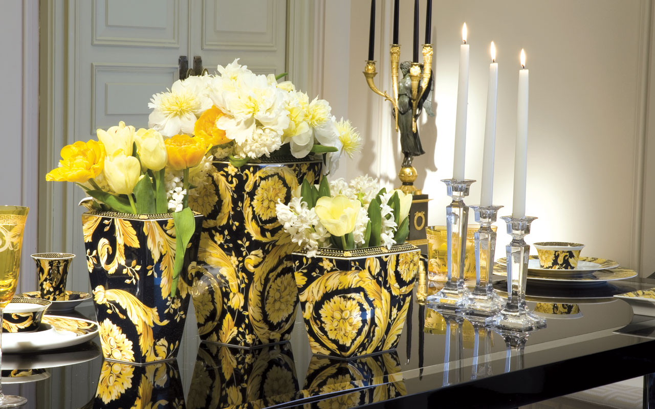 Palazzo Versace Dubai  the best fashion branded hotel and HD Wallpaper