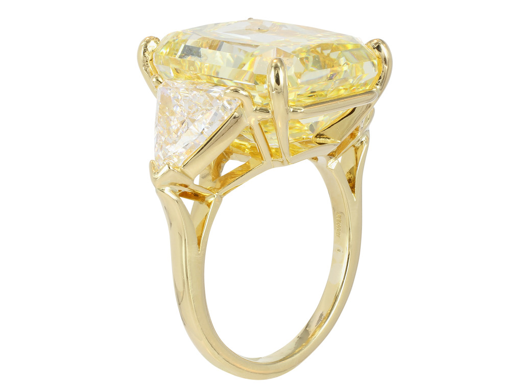 Bulgari 21 07ct Fancy Intense Yellow Diamond Ring at 1stdibs HD Wallpaper