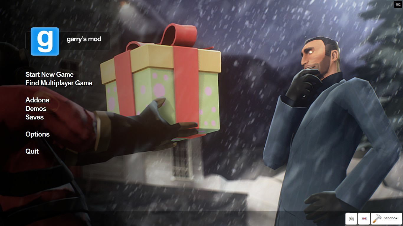 The spies face is revealed in the new GMod start screen   gaming HD Wallpaper