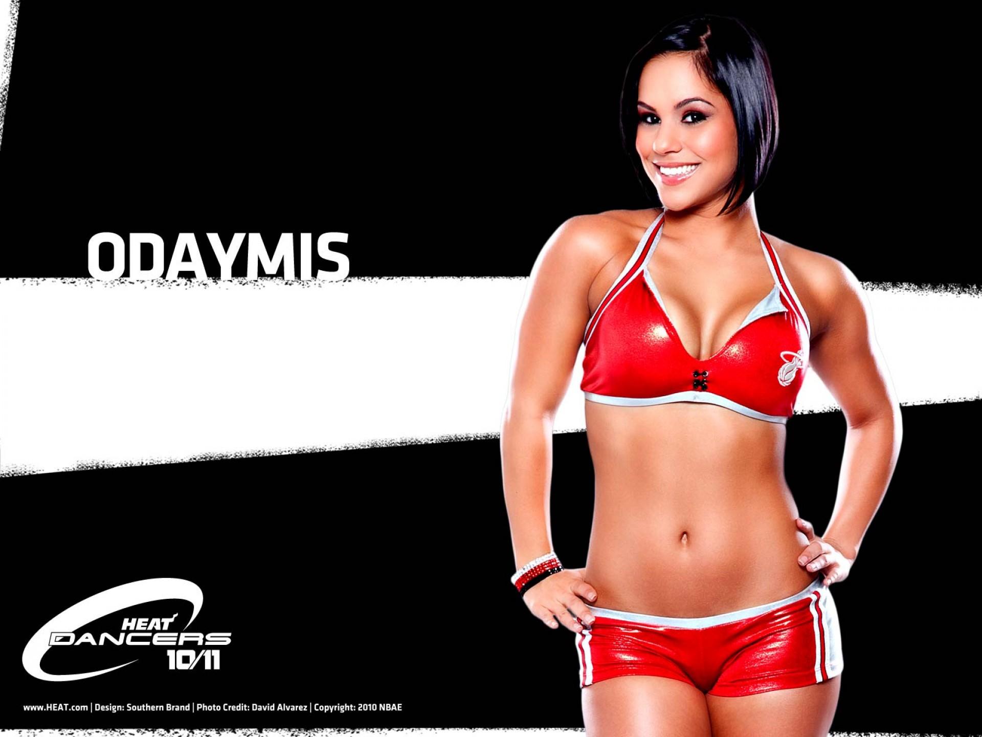 Miami Heat Nba Dancers Odaymis United States Usa HD Wallpaper