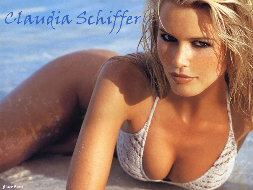 Sexiest Women in the World   Claudia Schiffer   Celebrity Portal HD Wallpaper