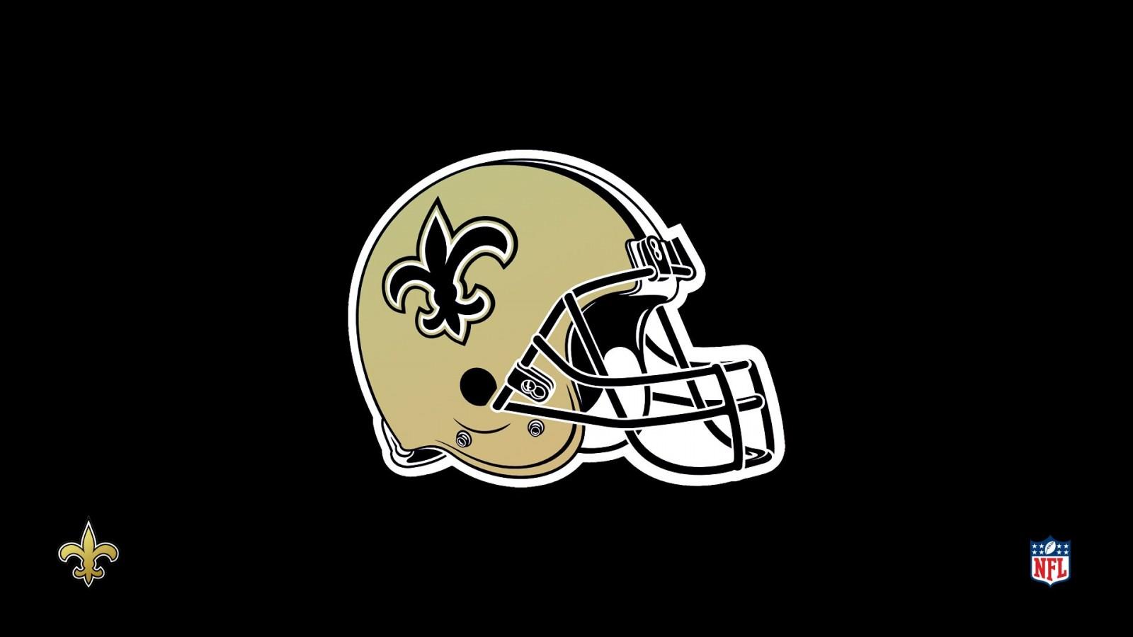 NFL New Orleans Saints negro HD Wallpaper