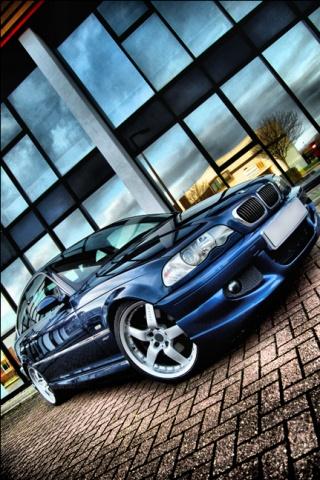 HDR BMW HD Wallpaper