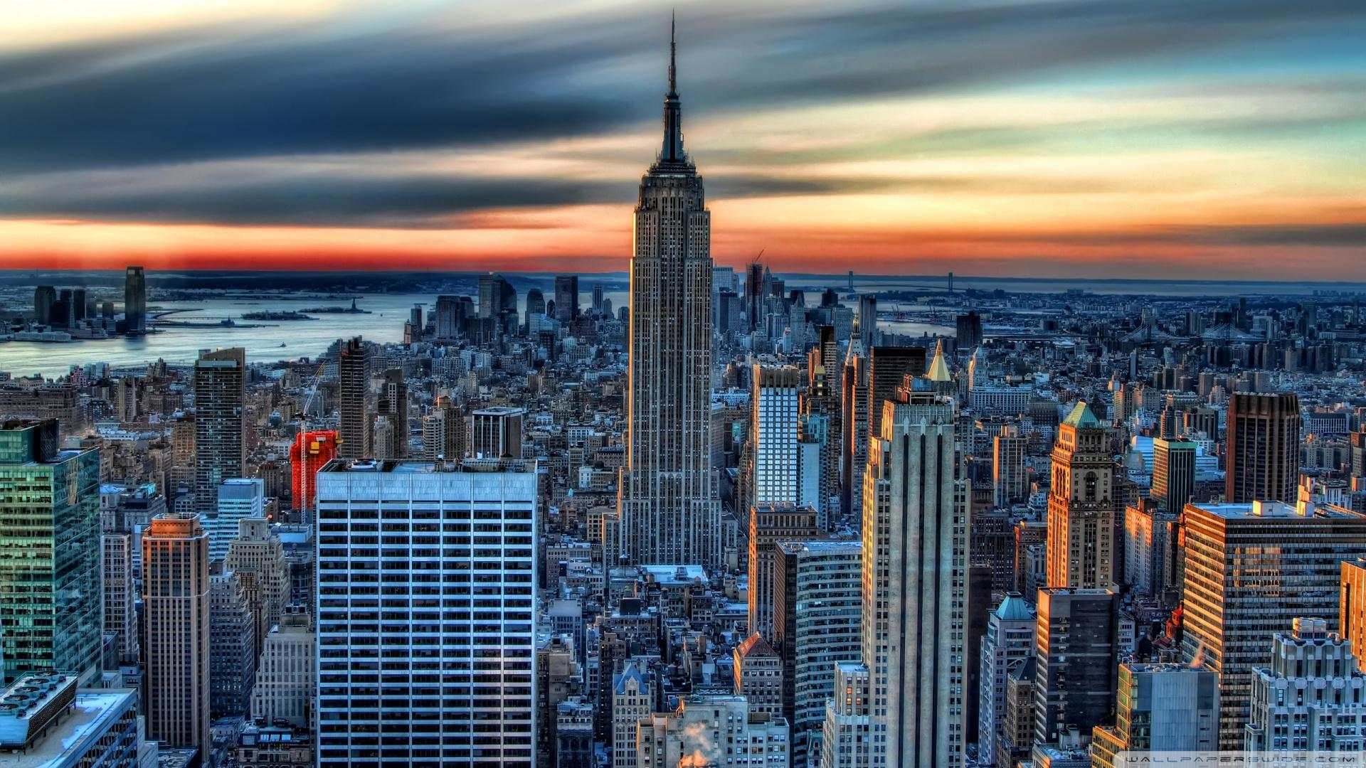 HD Amazing New York City Hdr HD Wallpaper