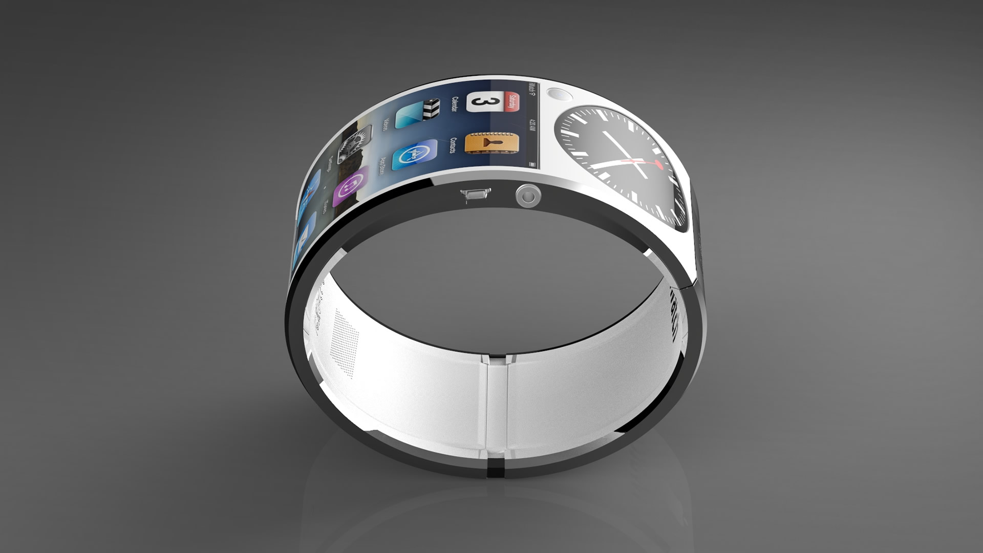 Apple iWatch Concept Design HD Wallpaper
